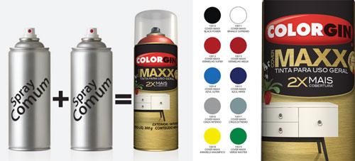 Colorgin lança tinta de alta performance