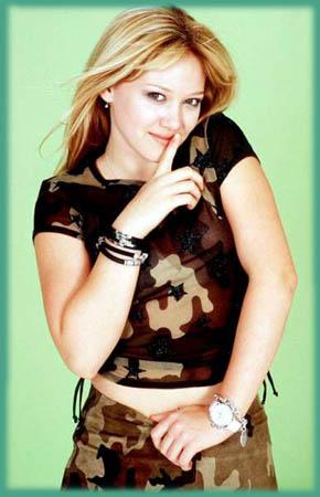 Hilary duff homepage
