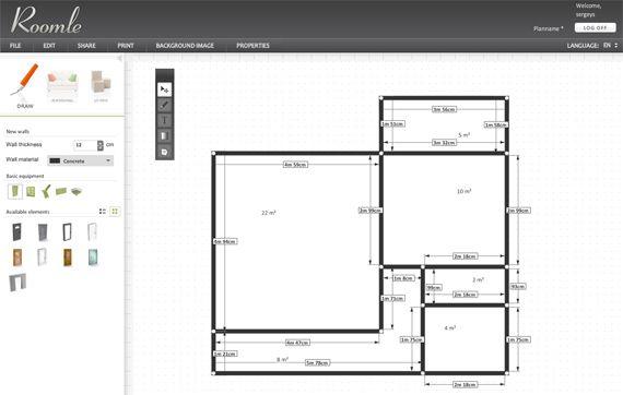 Построить план комнаты онлайн