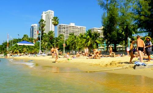 Паттайя чистые пляжи