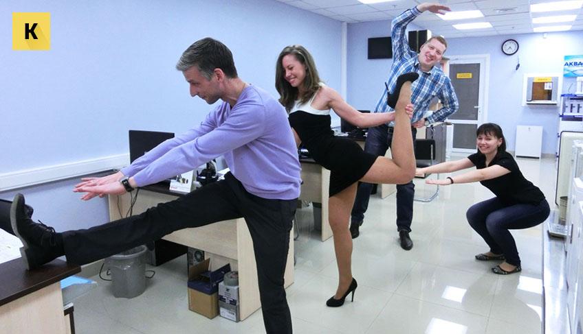Комплекс упражнений производственная гимнастика для офисных работников
