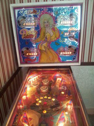 Dolly parton pinball machine for sale
