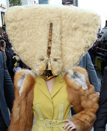 Lady gaga odd outfits