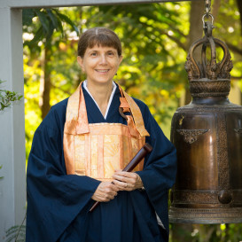 Our teacher Justine Mu Gen Kai Roshi