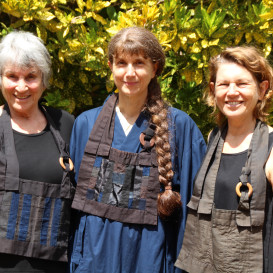 Our Teacher Justine Myoko Mayer and her teachers Ellen Davison and Subhana Barzaghi