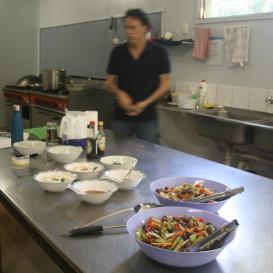 Samu - mindful work in the kitchen