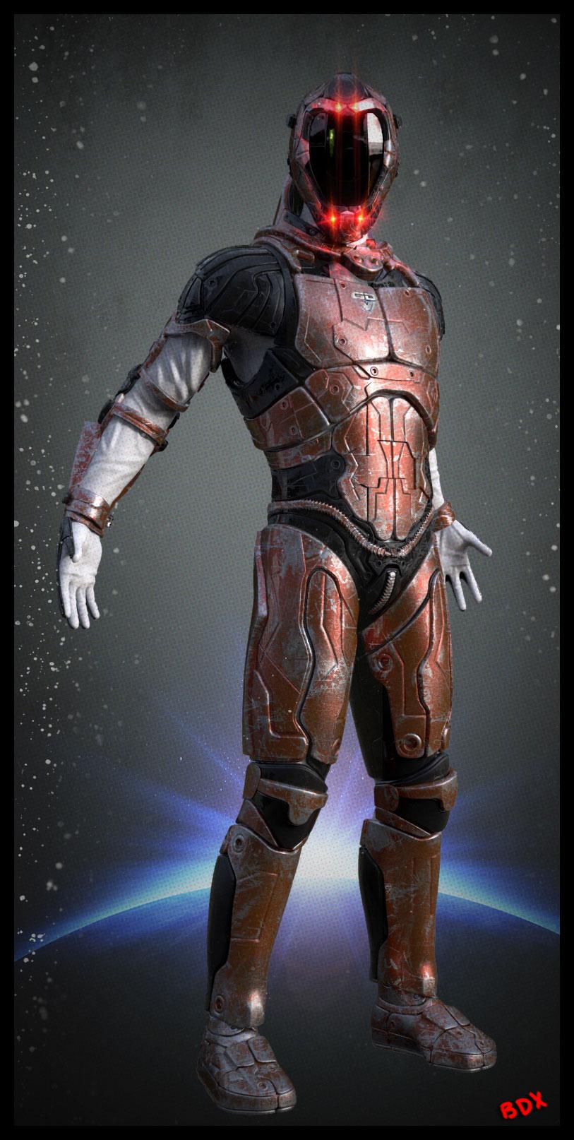 Armure Futuriste armure futuriste zbrush