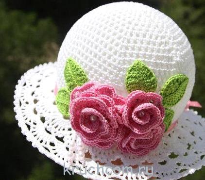 Вязание для детей крючком шапочки