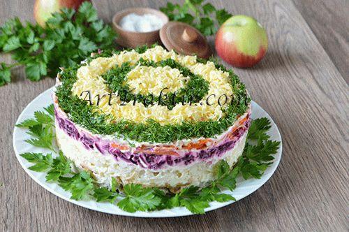Рецепт салат карель