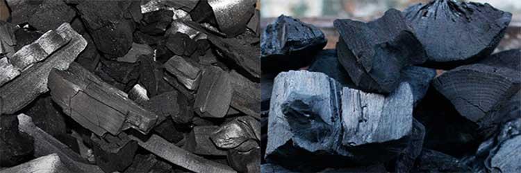 Древесный уголь как производят