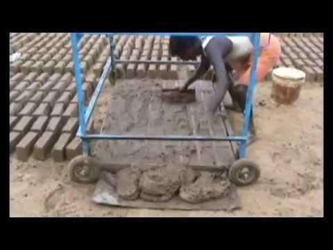 Производство лицевого кирпича из цемента