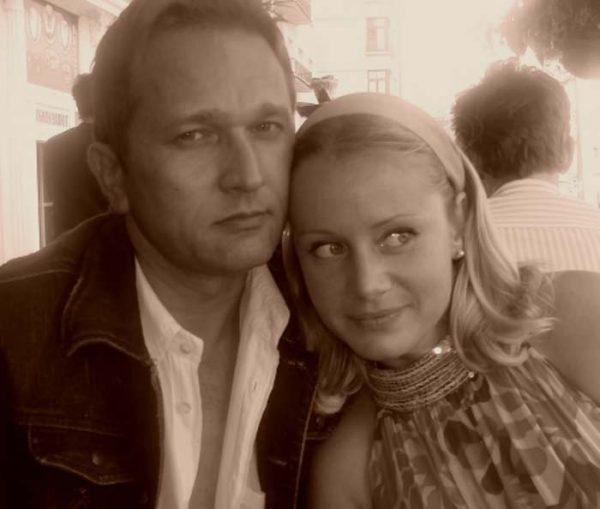 С первым мужем Александром