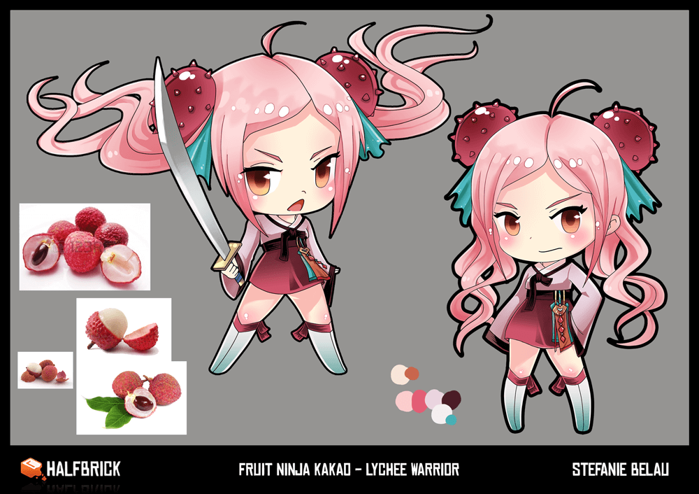 Fruit Ninja Kakao Lychee Lady