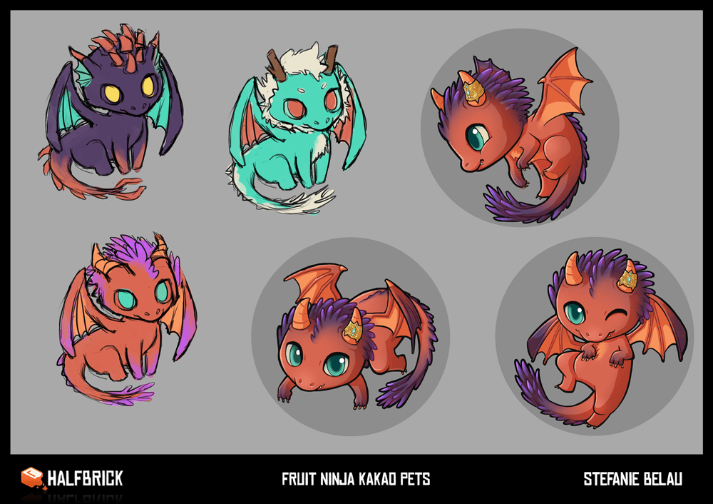 Fruit Ninja Kakao Pet Concepts