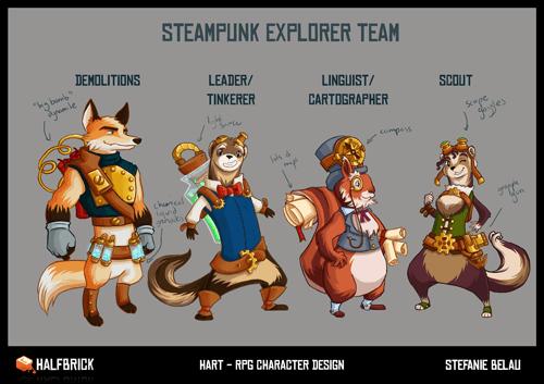 Steampunk RPG Group