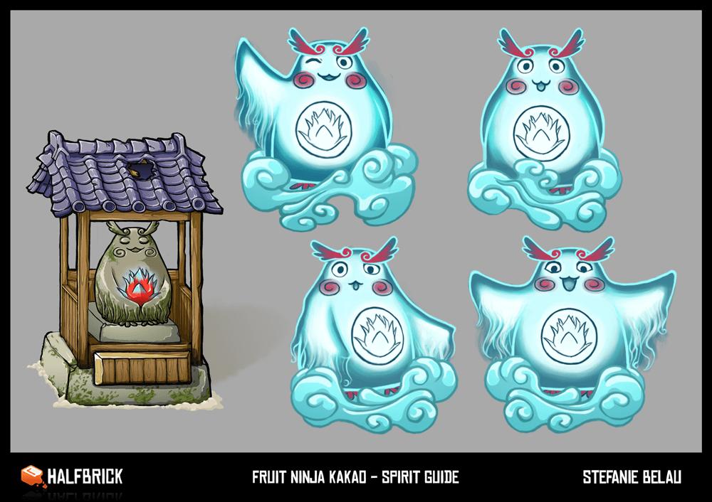 Fruit Ninja Kakao Spirit Design