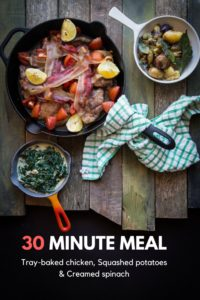 Jamie oliver tray baked chicken 30 minute meals
