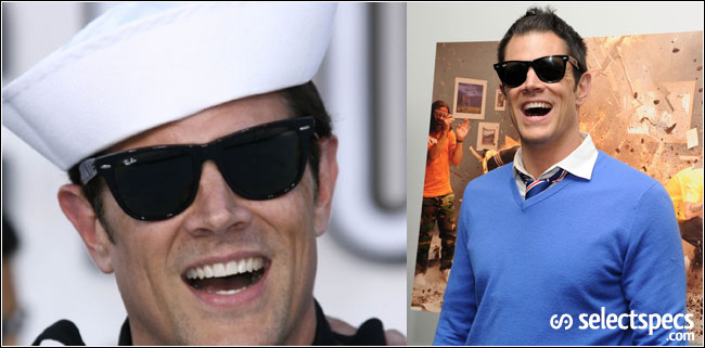 Johnny knoxville sunglasses ray ban