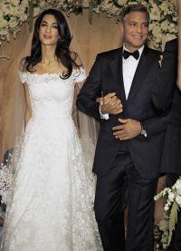 Свадьба Джорджа Клуни и Амаль Аламутдин