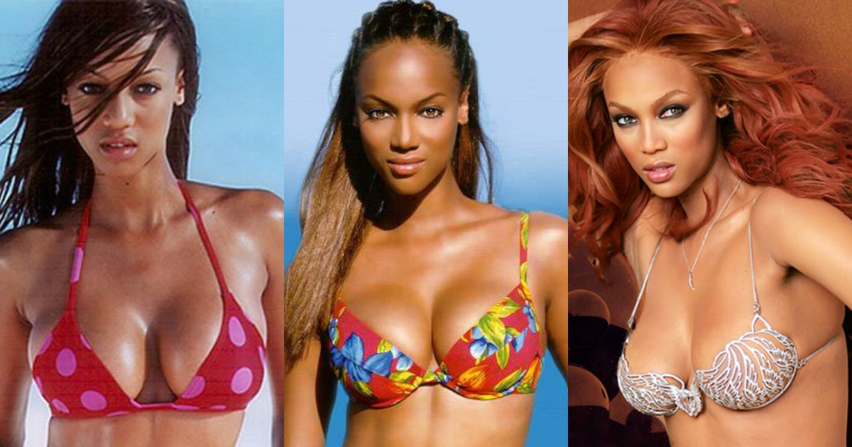 Tyra banks sexy boobs
