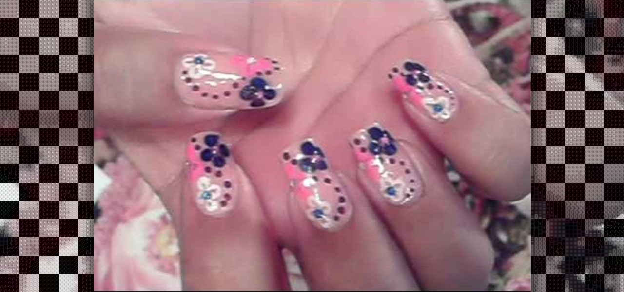 How to paint your nails with designs