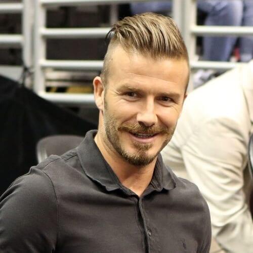 David beckham hair cut