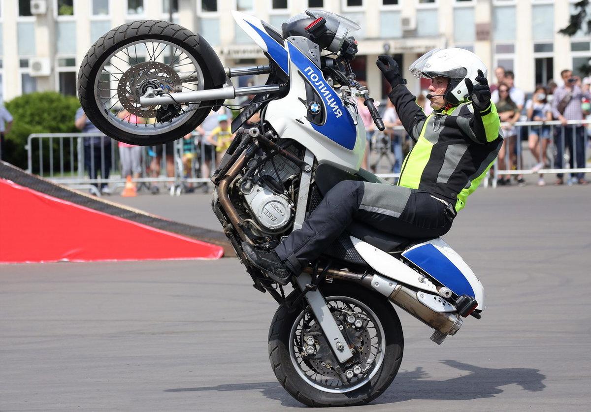 Курганские полицейские пересядут на «железных коней»