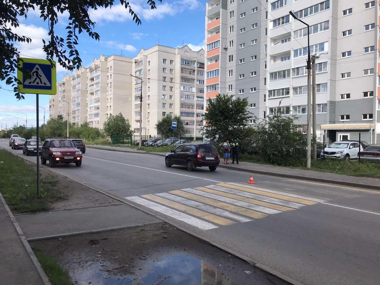 В Заозерном ребенок попал под колеса на пешеходном переходе