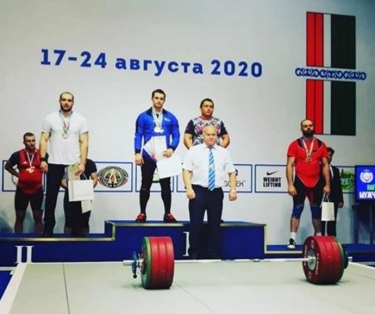 Зауральские тяжелоатлеты привезли «золото» из Чечни