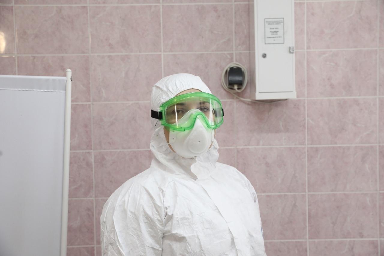 10 курганских медиков наградили медалями «За самоотверженность в борьбе с пандемией»