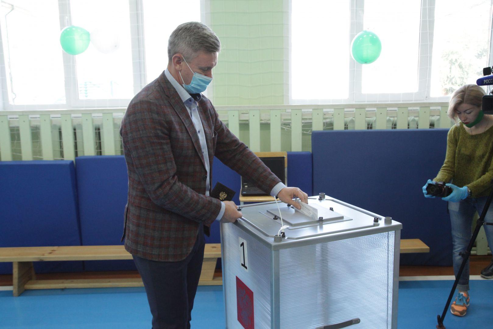 Дмитрий Фролов: «Я проголосовал ЗА развитие региона». В Курганской области стартовали выборы депутатов регионального парламента