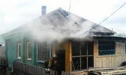 В селе Введенское сгорел дом, где жила семья с тремя детьми
