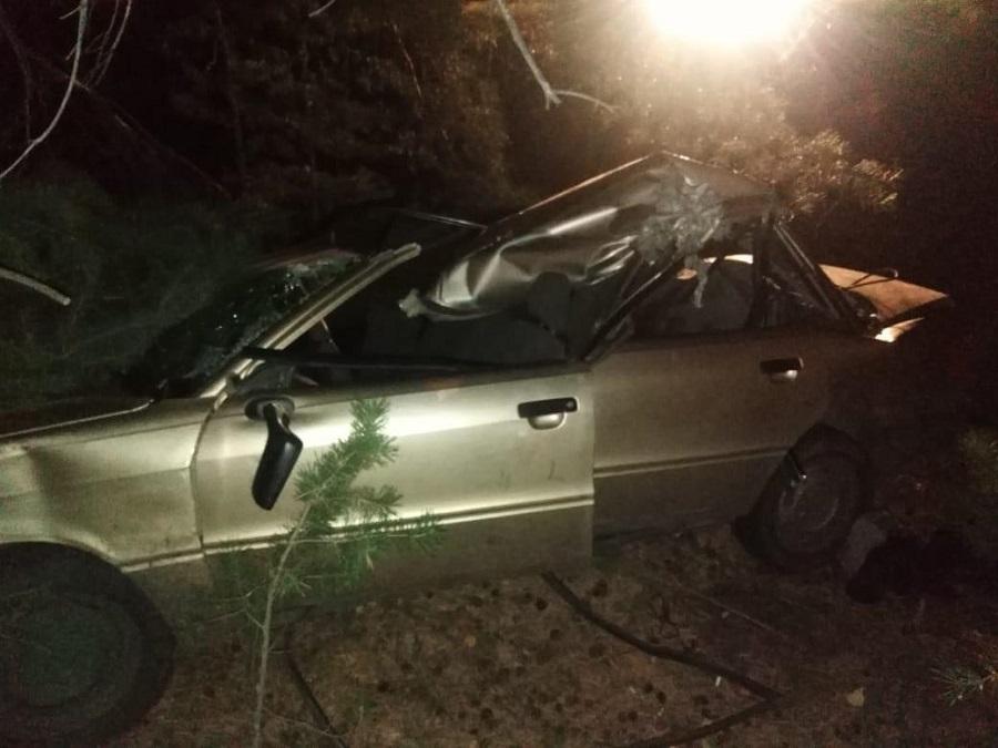 В Зауралье легковушка столкнулась с трактором: погиб молодой человек, тракторист исчез