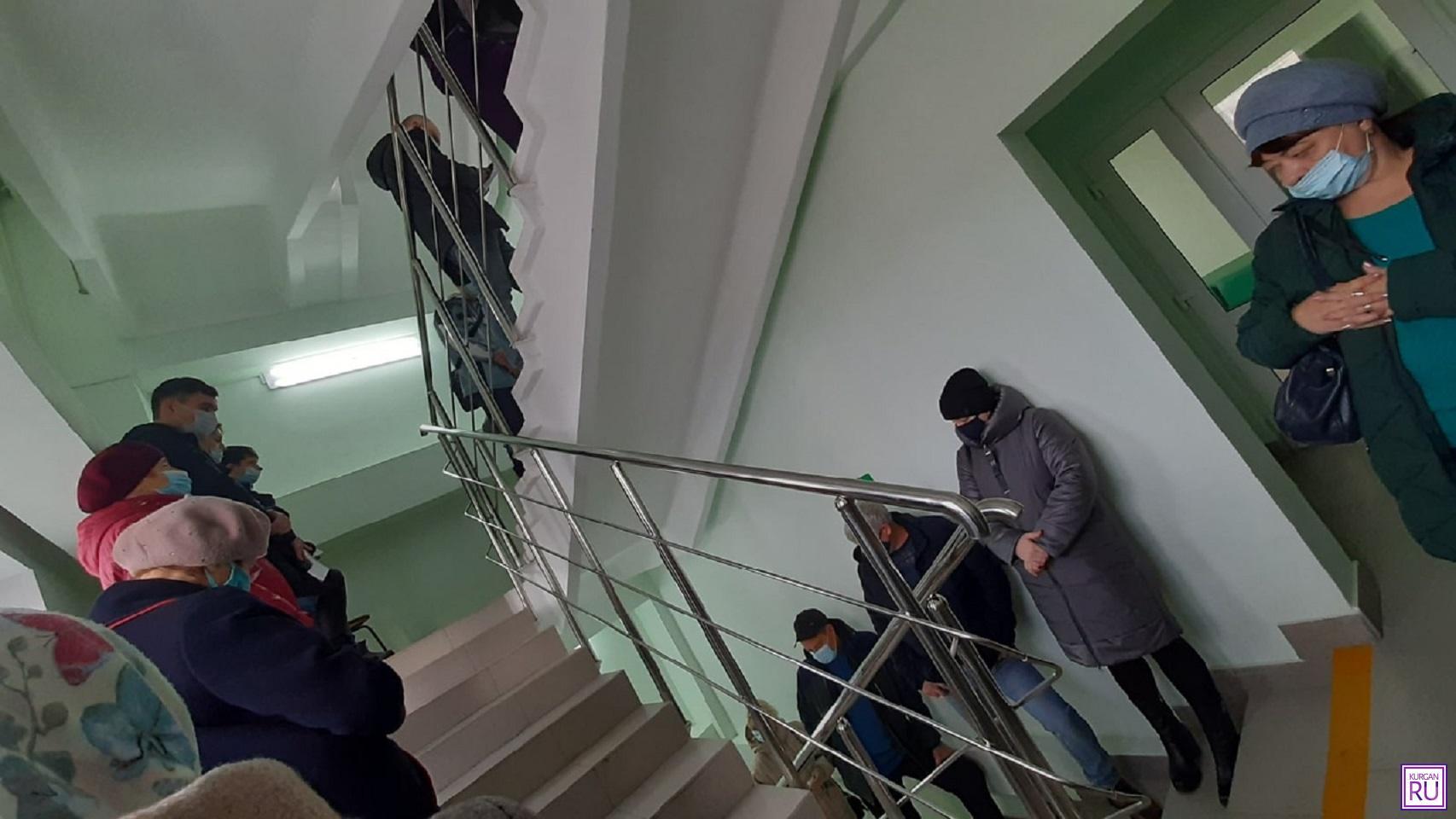 В Курганской области бороться с очередями в поликлиниках намерены с помощью видеокамер