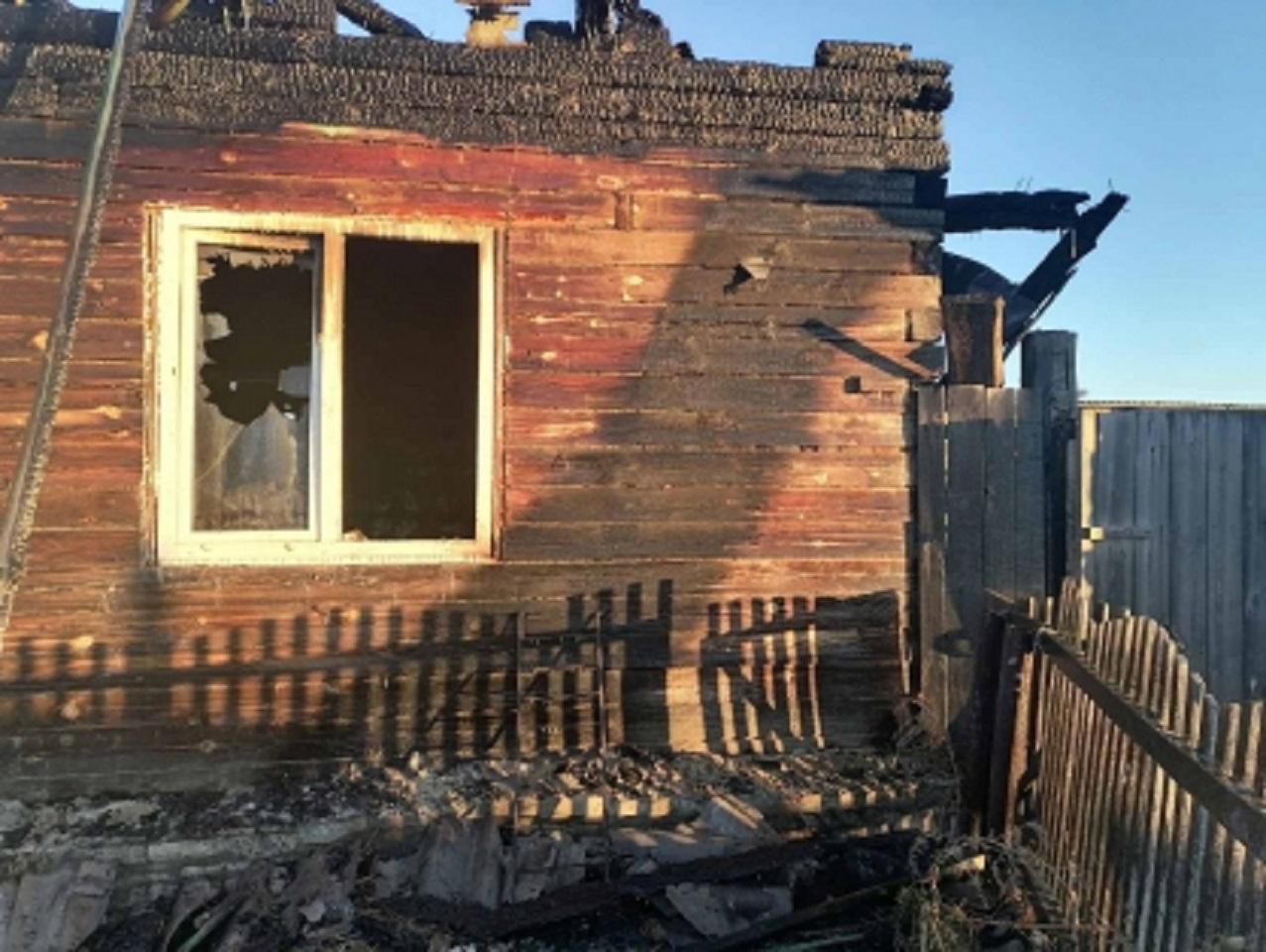 Дом вместе с хозяином сгорел не случайно: возбуждено дело об убийстве, под подозрением - женщина