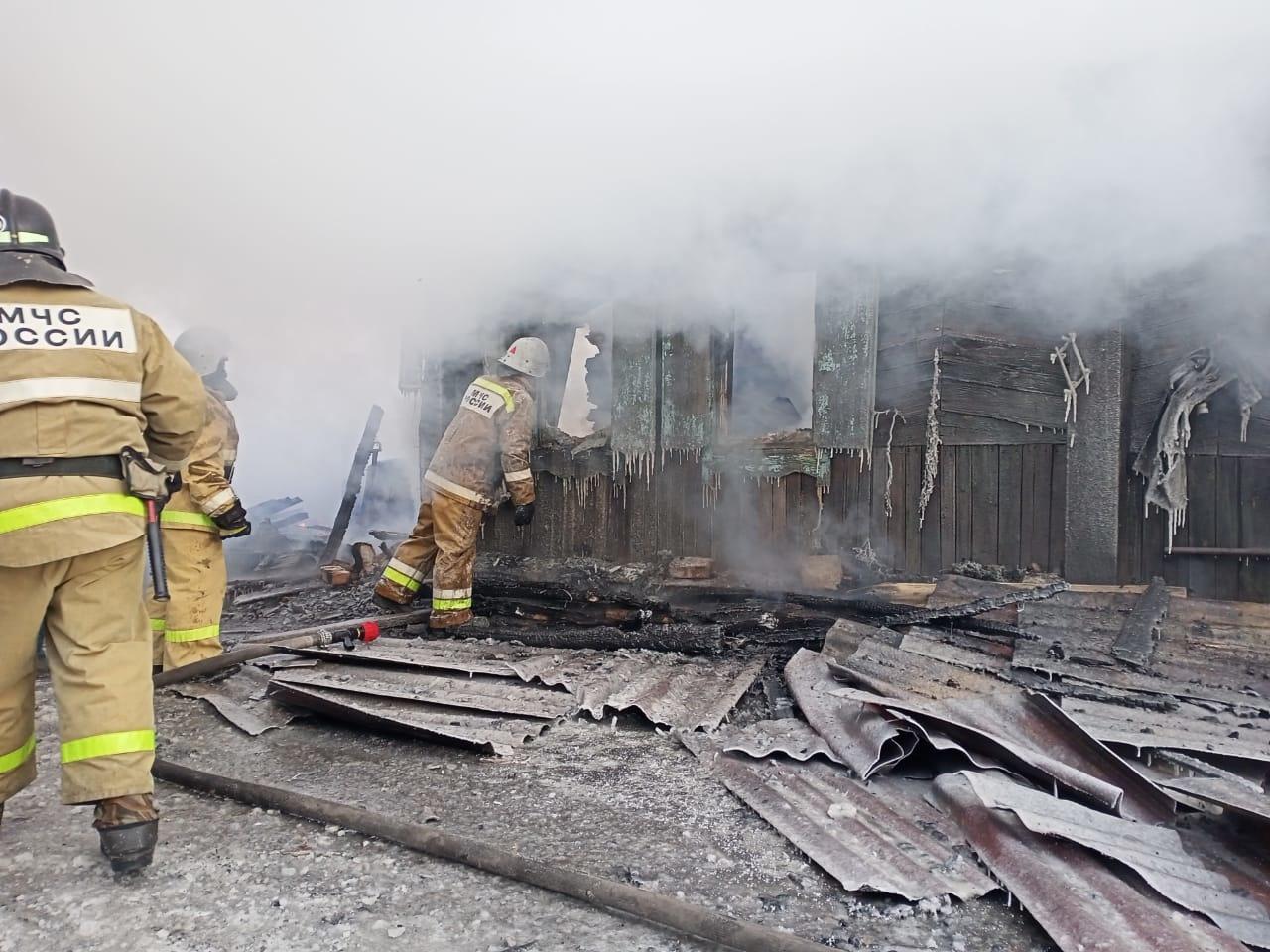 Первые жертвы: за два дня в Зауралье в пожарах погибли пять человек