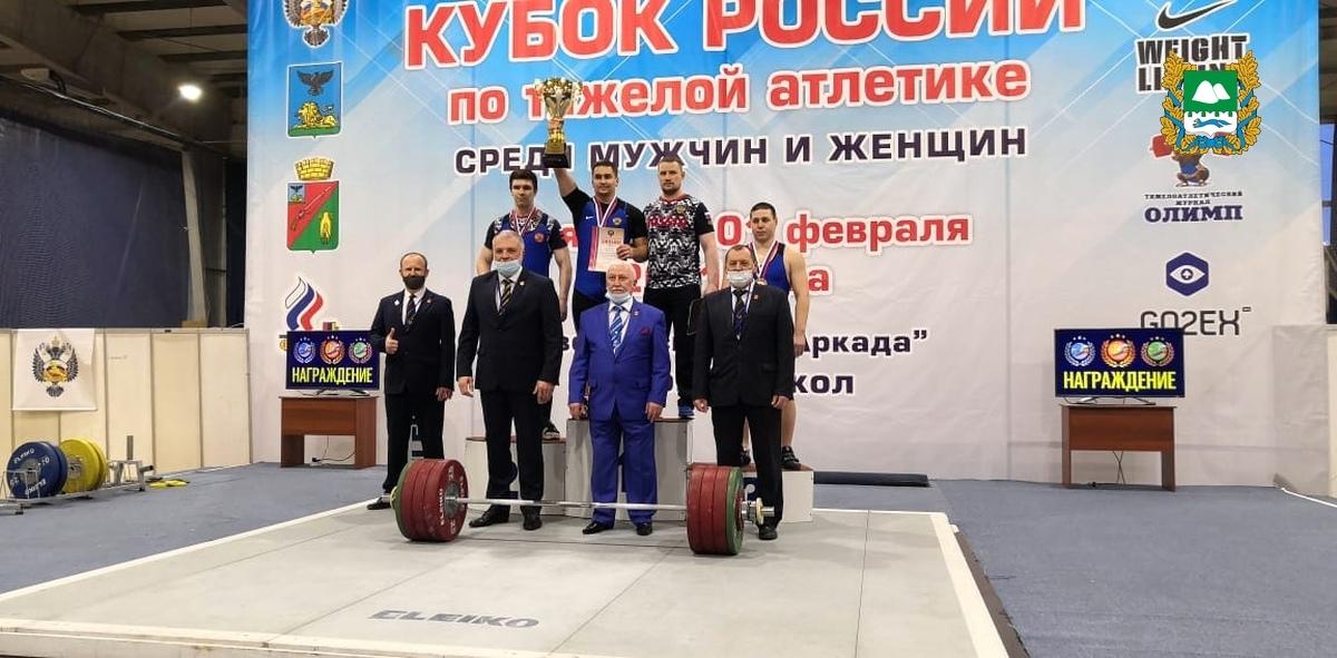 Силач из Курганской области установил рекорд России