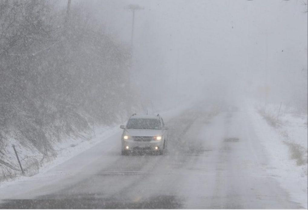 В Курганской области из-за непогоды ограничили движение по трассам