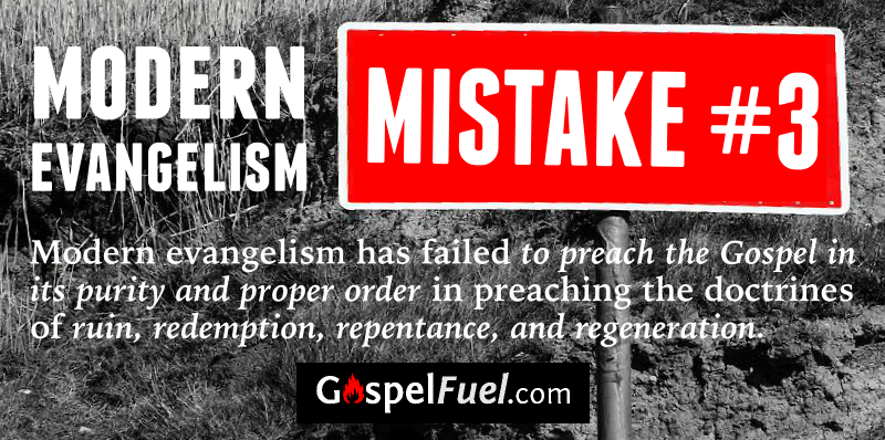 Modern Evangelism - Mistake 3 - E. A. Johnston