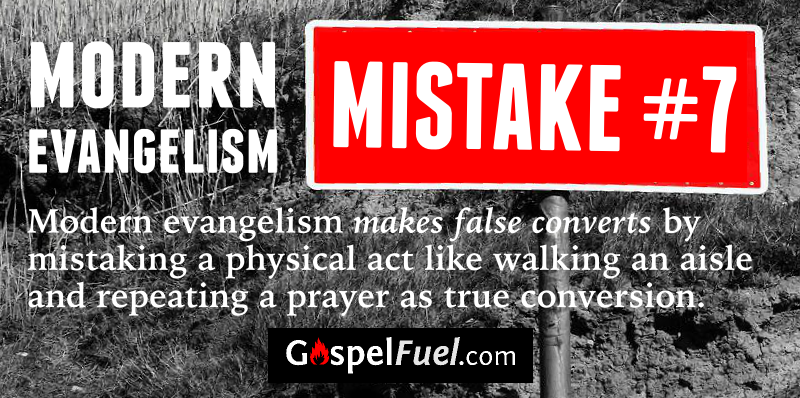 Modern Evangelism - Mistake 7 - E. A. Johnston