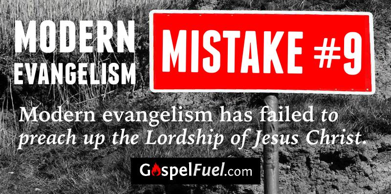 Modern Evangelism - Mistake 9 - E. A. Johnston