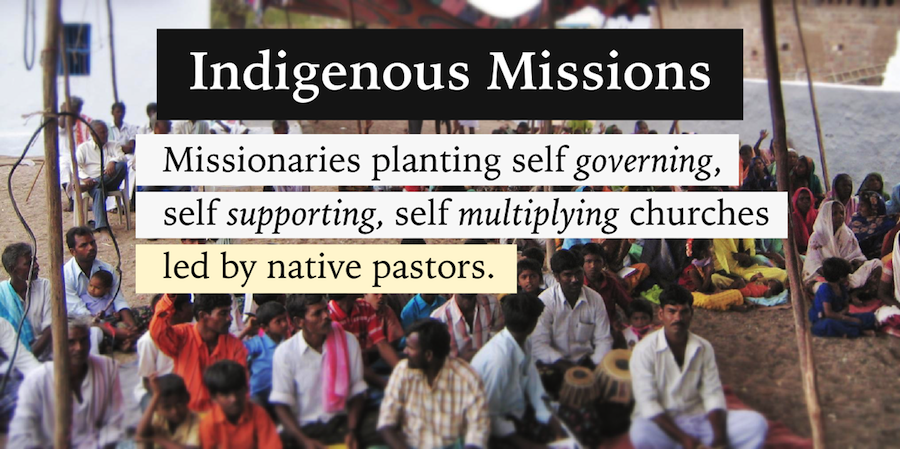 indigenous missions church planting