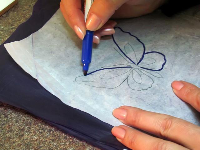 Как перевести татуировку на кожу
