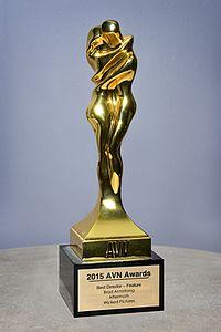 2014 AVN Awards Statuette