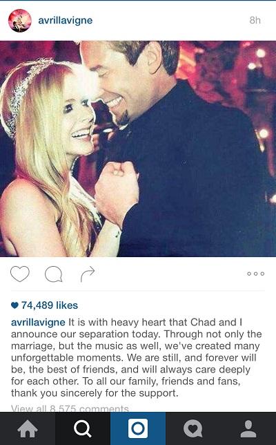 Chad kroeger instagram