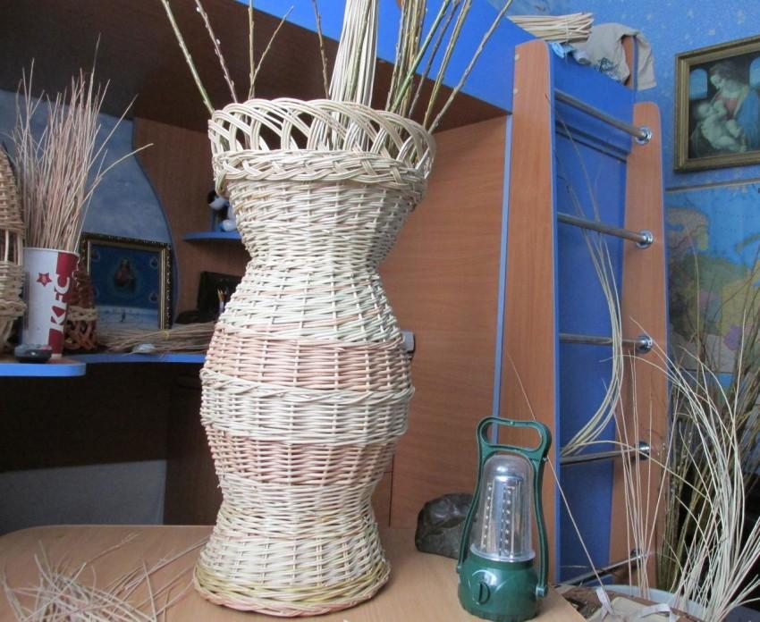 Техника плетения из лозы