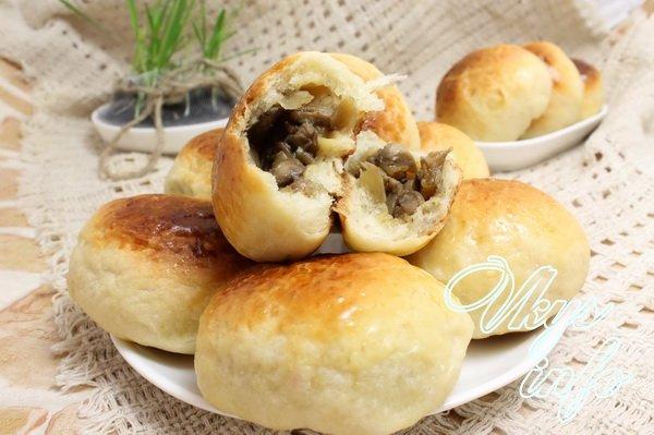 Начинка с курицей и грибами для пирожков