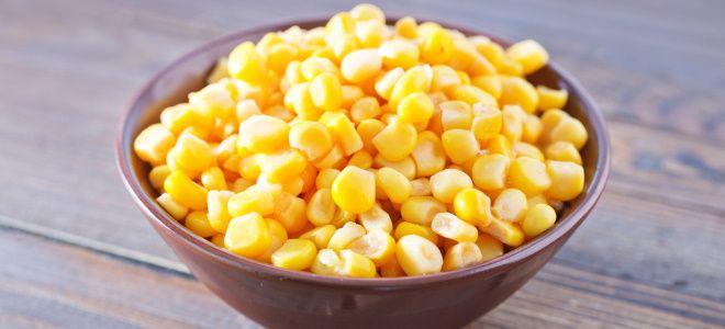 кукуруза как бондюэль на зиму