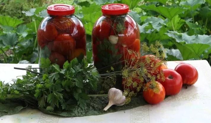 Рецепт пальчики помидоры