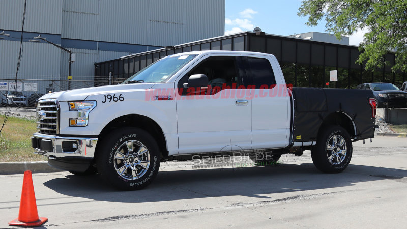 Image confirms Ford F-150 diesel will get a 3.0-liter engine